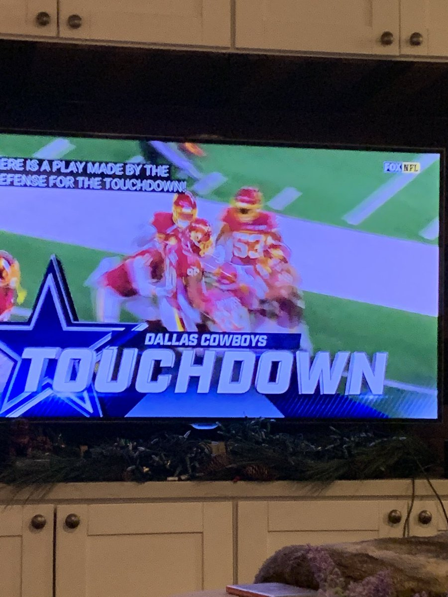 Dallas with the touchdown!  #WASvsDAL