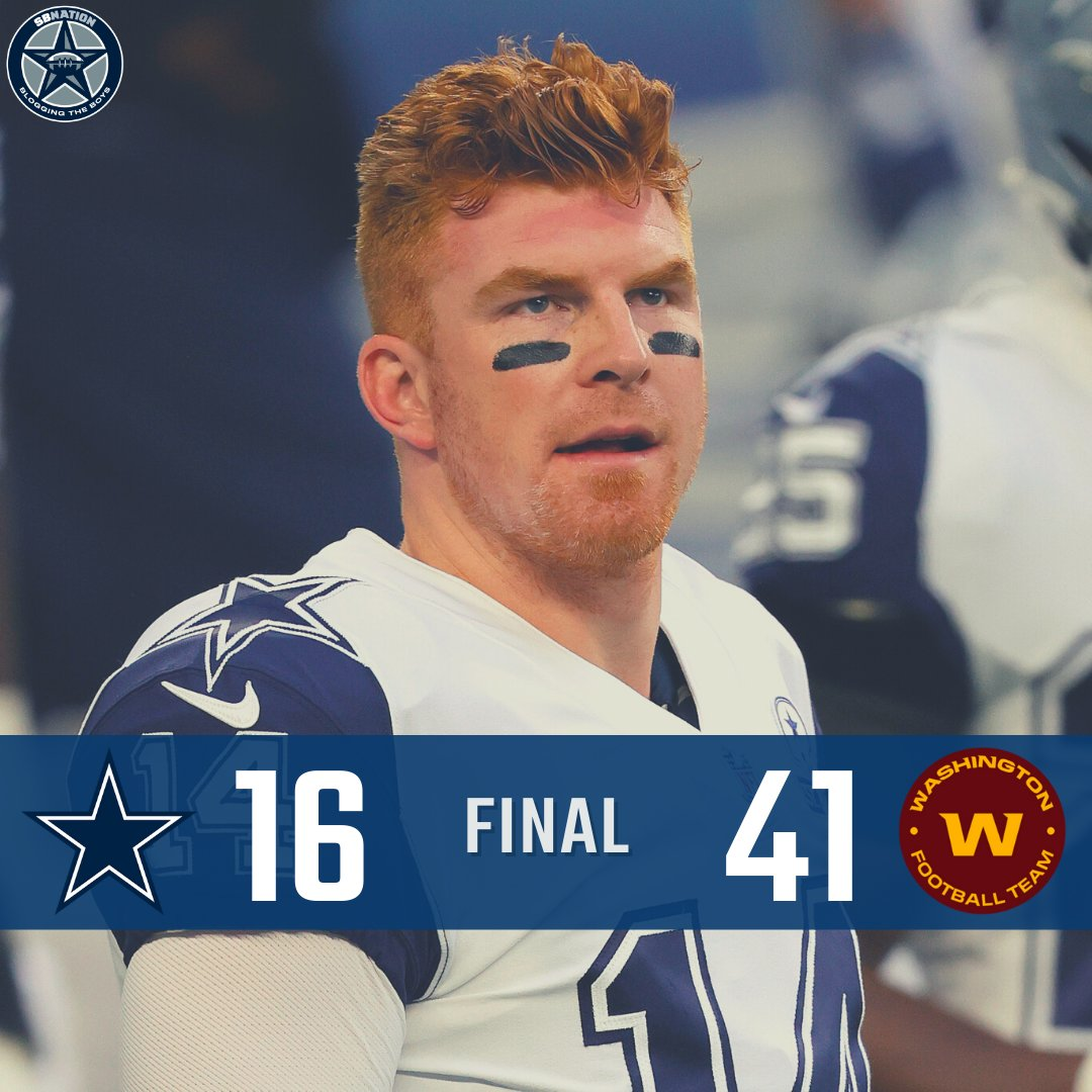 The Dallas Cowboys have never defeated The Washington Football Team. They are 0-2.