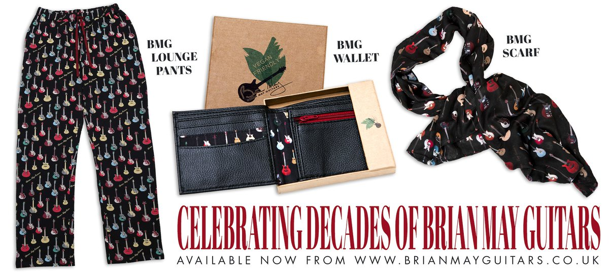 JUST IN TIME FOR THE HOLIDAY SEASON... brand new merch celebrating decades of @BrianMayGuitars is now available at the official BMG online store.  Grab the perfect gift for the guitar slinging, rock 'n' rolling love of your life or treat yo'self at :
