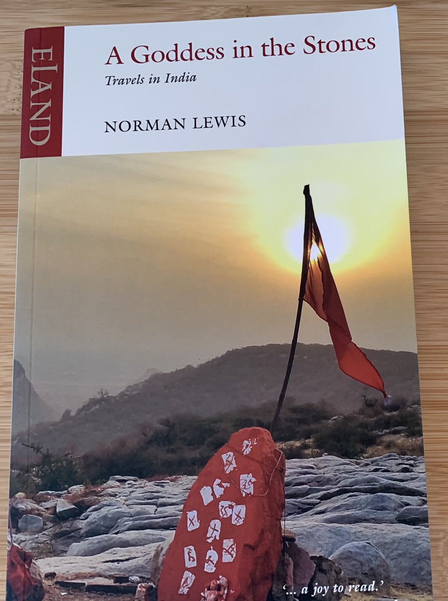 A prolific travel writer Norman Lewis whose beautiful writing is completely absorbing and tremendously joyful to me all thanks to @ElandPublishing for this extraordinary travelogue. #travelwriting #books #IncredibleIndia https://t.co/hQ3uD4XDcn