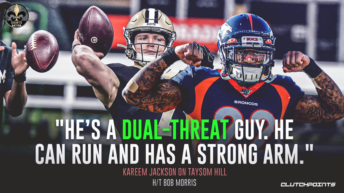 Kareem Jackson and the Broncos know what they're facing in Taysom Hill 👀 https://t.co/nl3OwejnuC