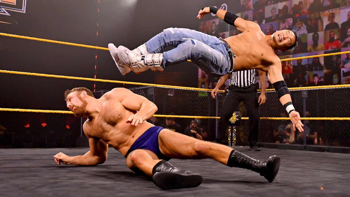 Another huge win for @KUSHIDA_0904 on #WWENXT...overcoming the challenge of Timothy Thatcher! https://t.co/BpARH4lUiq