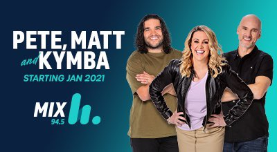 Dean 'Clairsy' Clairs has today announced he will be leaving SCA Perth's Mix 94.5 Breakfast show, Clairsy, Matt & Kymba.  Stepping in for Clairsy will be Pete Curulli.  Listen to Pete, Matt & Kymba from Monday 11 January 2021.  Read more here:https://t.co/4s82NnJCfS https://t.co/cc1zaUOoUF