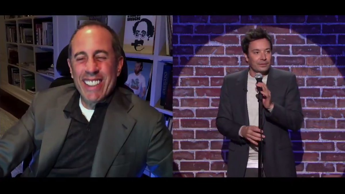 Jimmy gives the Seinfeld Challenge a try with his updated @JerrySeinfeld impression 📫 #FallonTonight https://t.co/T0hhwMvFV4