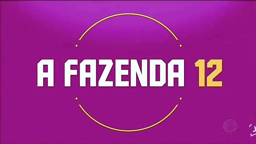 Audiência - 23h56 SP  RecordTV - #EliminaçãoAFazenda #AFazenda12 16.5 Globo - #TheVoiceBrasil #TheVoice 13.7 SBT - #APraçaÉNossa 5.5 Band - #BarAberto 0.9 RedeTV! - #Sensacional 0.6
