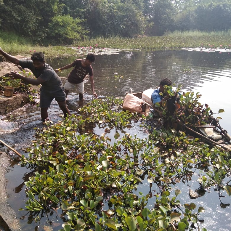 The water is very deep but we have a promise to keep.   Barikan Lake Clean Up in Aarey Colony inspired by #MajhiVasundhara Abhiyan.. thanks to Jayraj Nayak Ji and his team to take up this beautiful initiative. @AUThackeray @ErikSolheim  #mazivasundhara  #majhivasundharaabhiyan https://t.co/pPB8FA4pG5