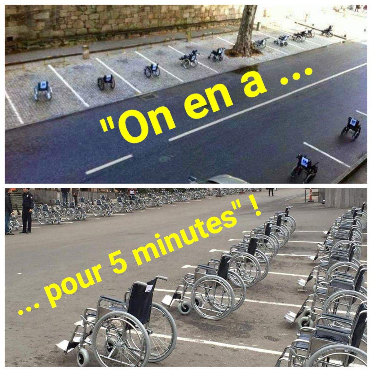 Le monde à l'envers ! #Handicap #StationnementHandi #HandiValide #HandiPower https://t.co/yQ42DOK568