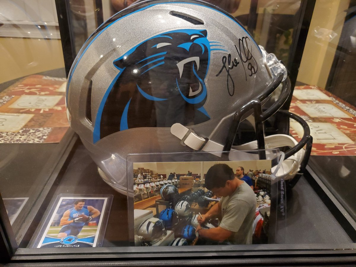 I acquired something today that reminded me of Thanksgiving 2015.  @Panthers #KeepPounding #DoYouRiot