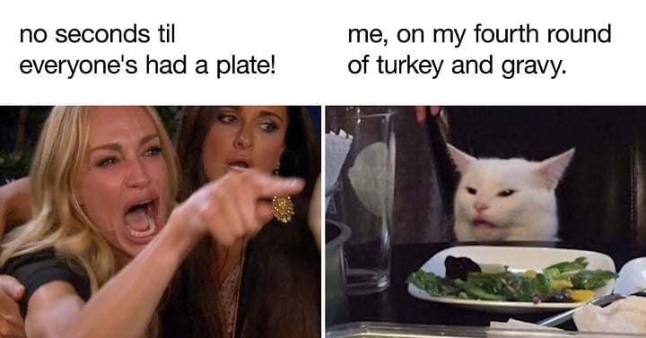 Sorry not sorry? #meme #memes😂 #memesdaily #memes #dankmemes #newcontent #NewEpisodeAlert #newepisodes #newepisode #podcasting #podcastlife #PodcastersOfInstagram #podcastmemes #podcast #podcastlove #thanksgiving2020 #thanksgivingturkey #thanksgivingdinner #thanksgiving #behero https://t.co/vnETfhvClX
