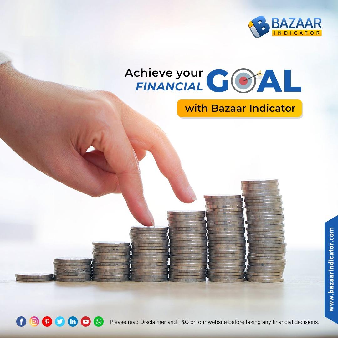 Achieve your financial goals with Bazaar Indicator  #Speedy #Cost_effective #Accurate #AlgoTrading #stockbroker #stockmarket #investment #investor #trading #finance #daytrader #profit #highreturns #investing #success #broker #IndexCombo #BazaarIndicator #Surat #Ahmedabad #Gujarat