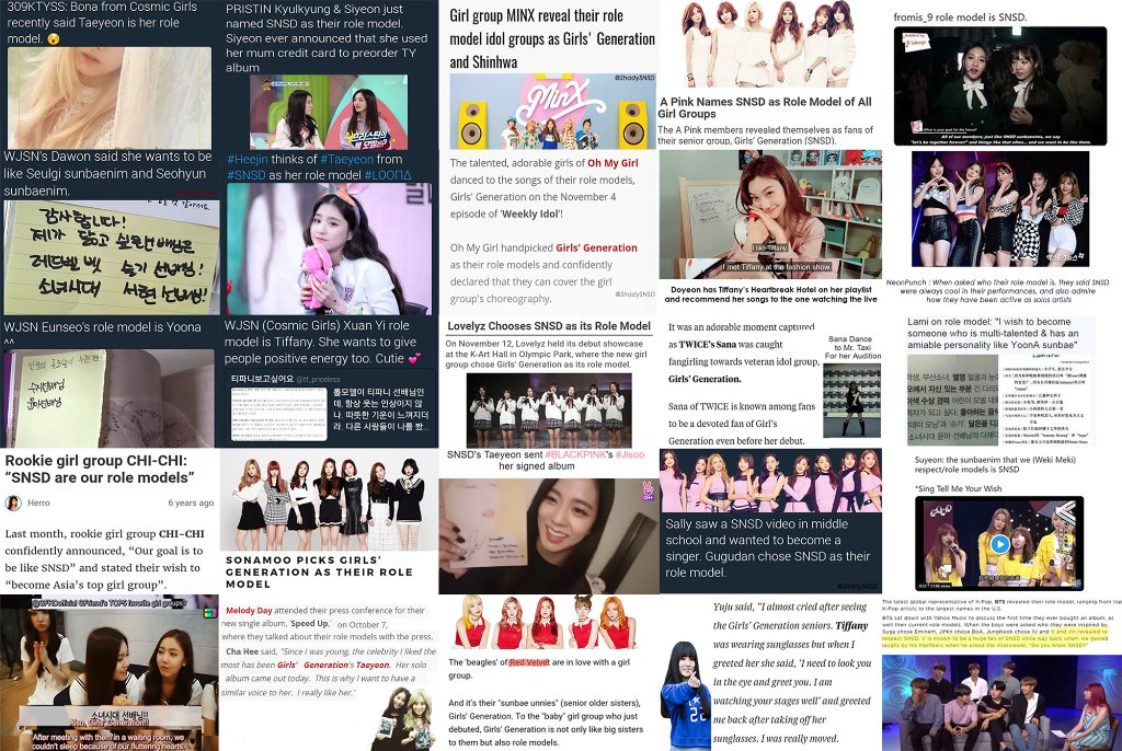 SNSD had no impact, confidently says 13 year old Bethany, unaware of the fact that her favourite idol got a shrine dedicated to SNSD in their bedroom