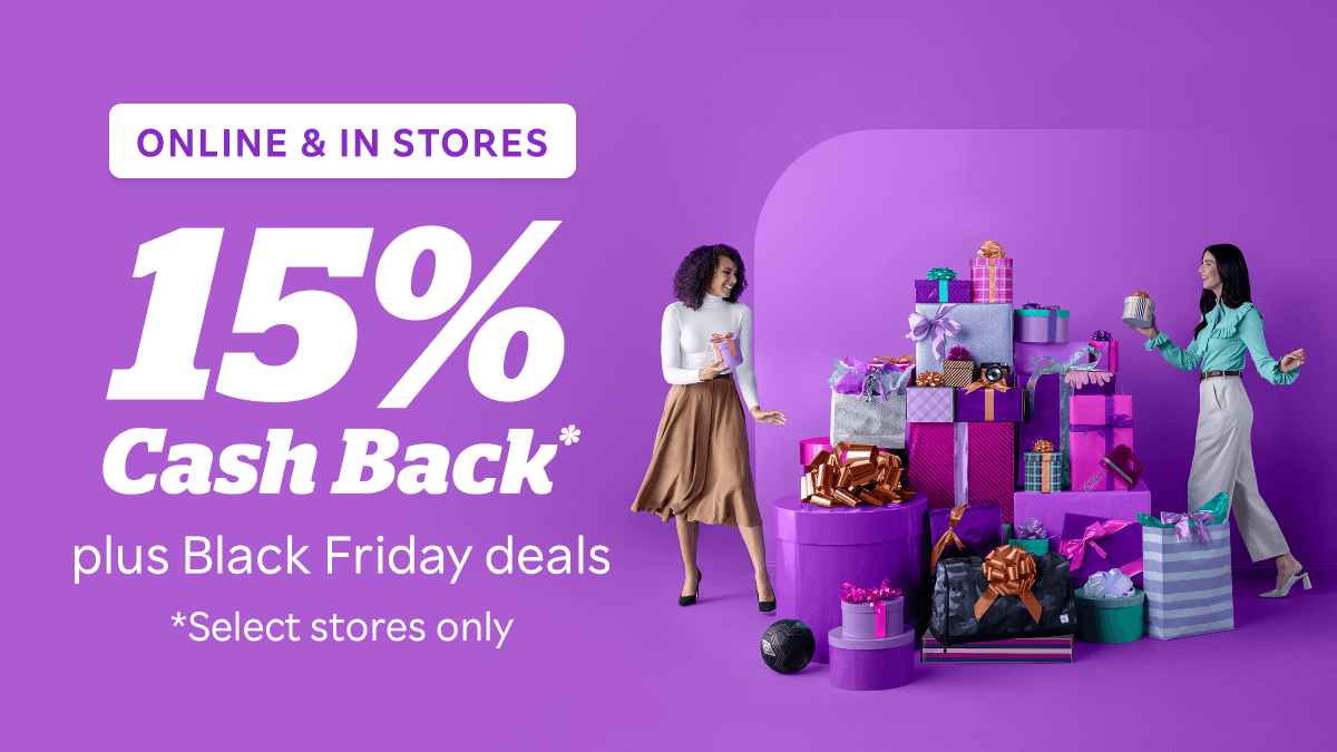 Black Friday deals are here! 🤩 Stack the savings with Cash Back at Macy's, Walgreens, Walmart and more.