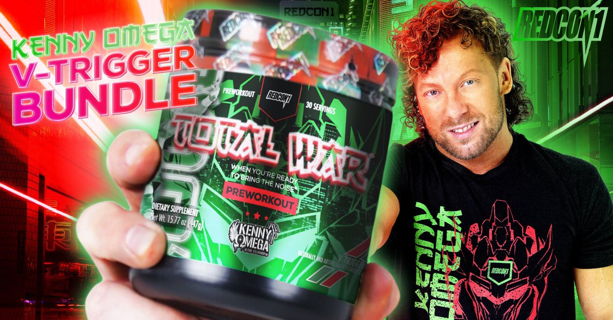 AEW Star Kenny Omega Launches Supplement Line With REDCON1