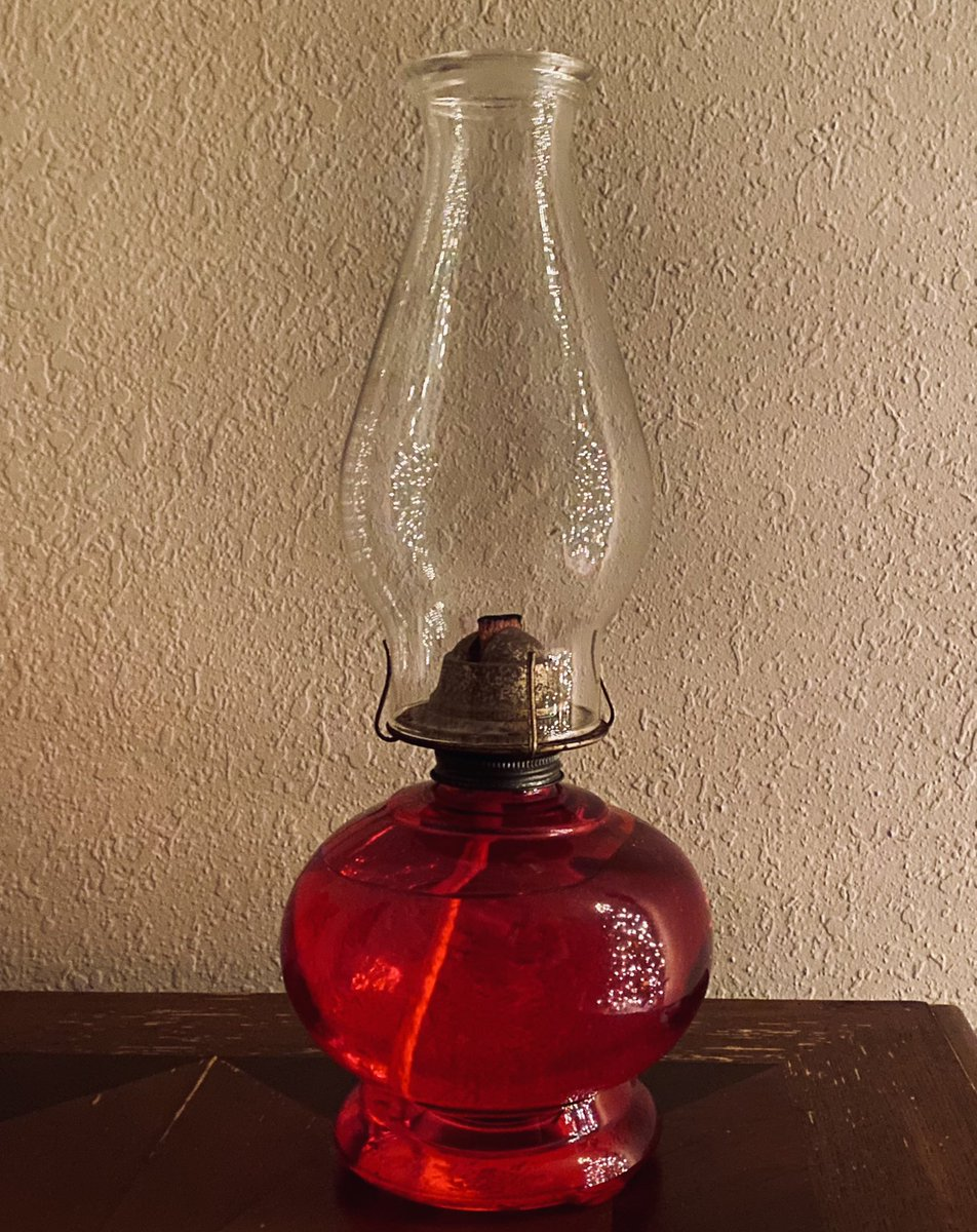My grandparents lived deep in the country with no electricity. My dad said when he traveled in the dark he would see the light from my grandma's red kerosene lamp in the window and it would guide his way home. She waited for him. Perhaps his passage to the other side was similar.