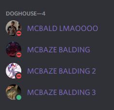 McBaze - My discord community so nice ☺️