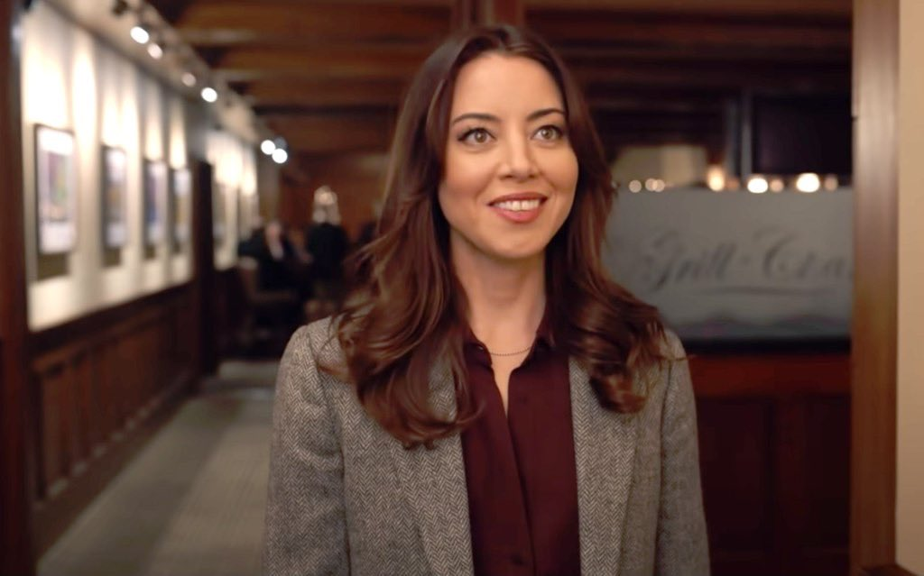 happy thanksgiving to aubrey plaza specifically and for obvious reasons