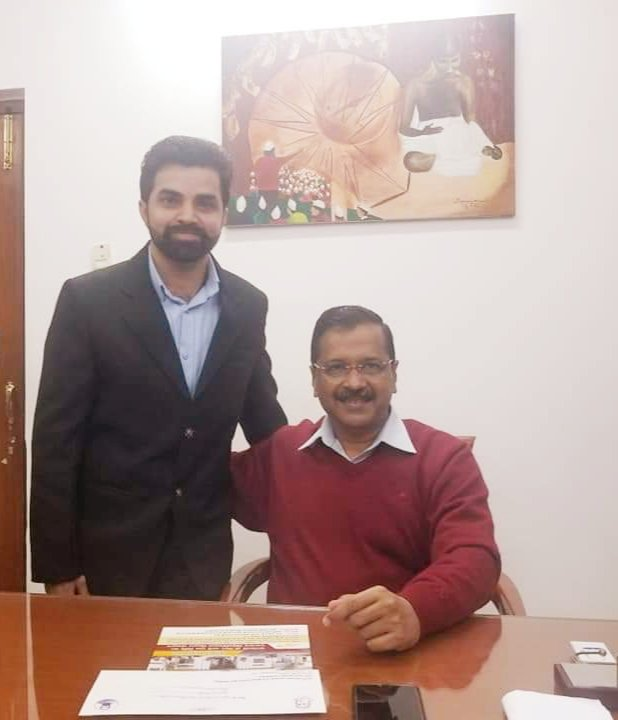 Hello @ArvindKejriwal ji , today is my birthday, need your best wishes on my special Day.  Hope you wish me.