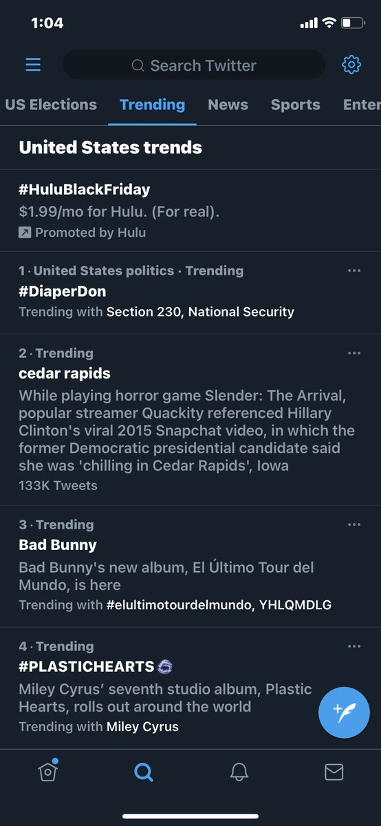#DiaperDon is trending #1 n Agent Orange is freaking out. I have to admit this is funny as shit. Don't keep it trending #1 #DiaperDon may have no diapers left by morning. I bet @GovRonDeSantis would stock Mar-a-Lago full of them n change them if he packed his bags n moved now.