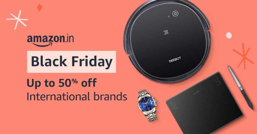 Black Friday is here with up to 50% off on some Big Brands! Don't miss out on these great deals!