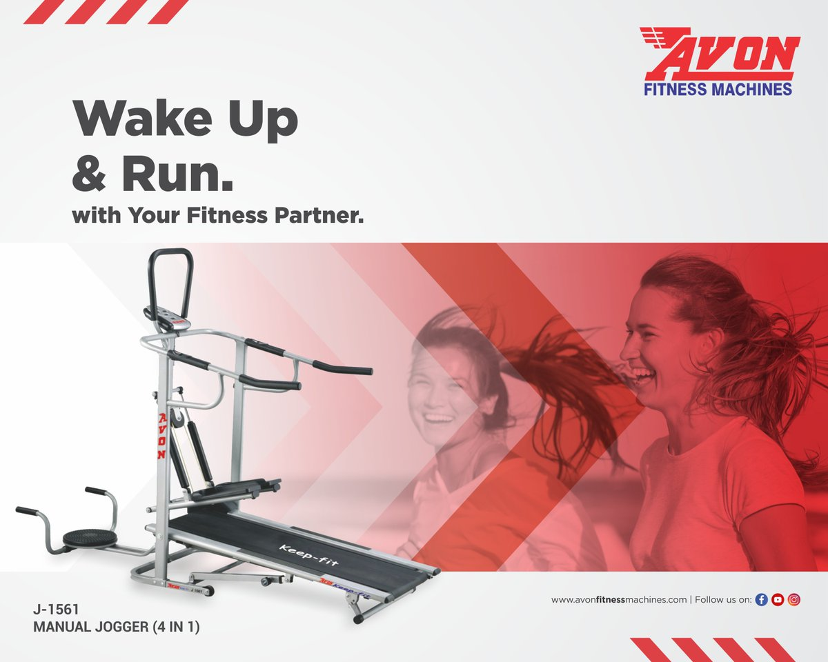 Race towards health with Avon. Get your fitness machine today!  #AVON #Fitness #Gym #Workout #FitnessMachines #Treadmill #Cardio #GymEquipment #Dussehra #Health #Diet #CrossTrainer #UprightBike #Bikes #Cycles #SpinBike #MultiGym #Benches #Orbitrac #HomeGym https://t.co/p9rjQMaQPv