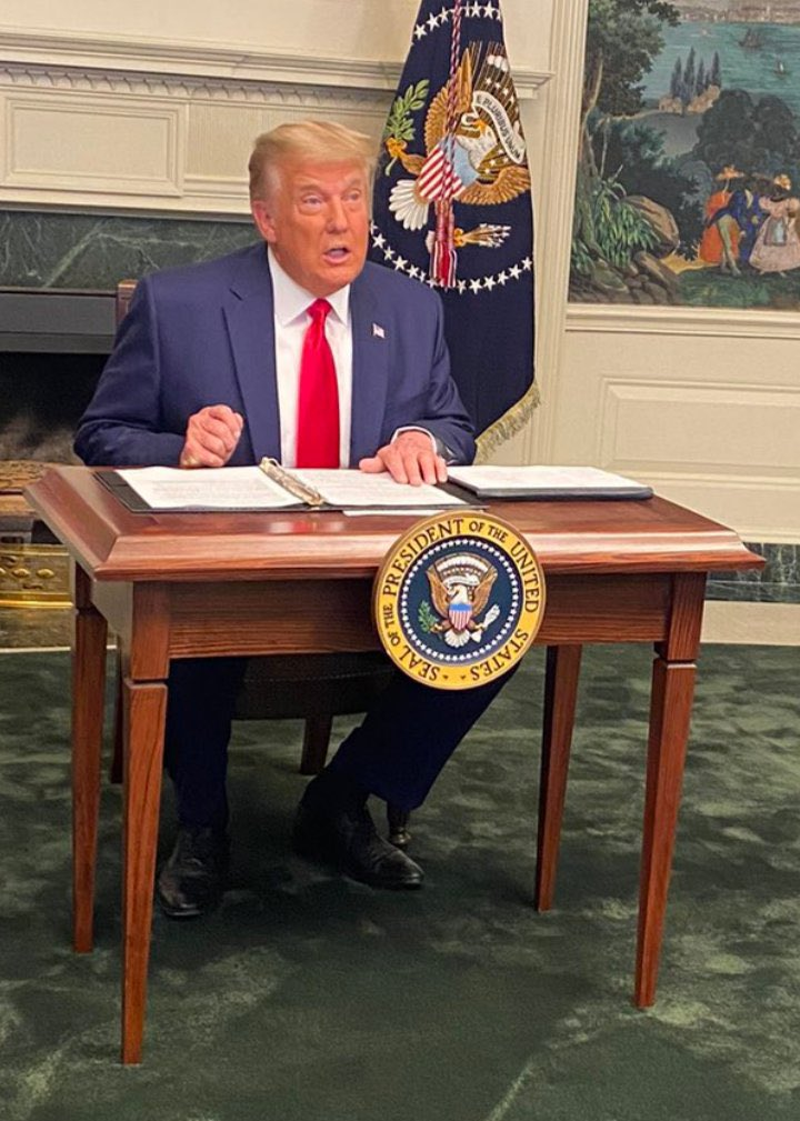 I want to salute the dark, subtle genius, quietly at work in the White House staff, who managed to move Rudy Giuliani's press conference to a run down garden centre, and to seat Donald Trump himself at that tiny, tiny desk.  Be safe. The world needs your art.  #DiaperDon https://t.co/xALQUblaX6