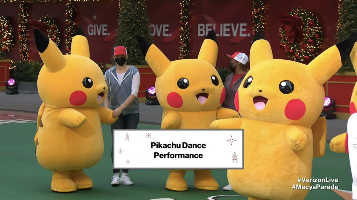 Oh my gosh! I've completely forgot about this! Still, I can't wait for Pokémon's 25th anniversary next year! Also huge shoutout to Pokémon and Macy's day parade for bringing the amazing dancing Pikachu over! #VerizonLive #MacysDayParade #MacysThanksgivingParade #pokemon