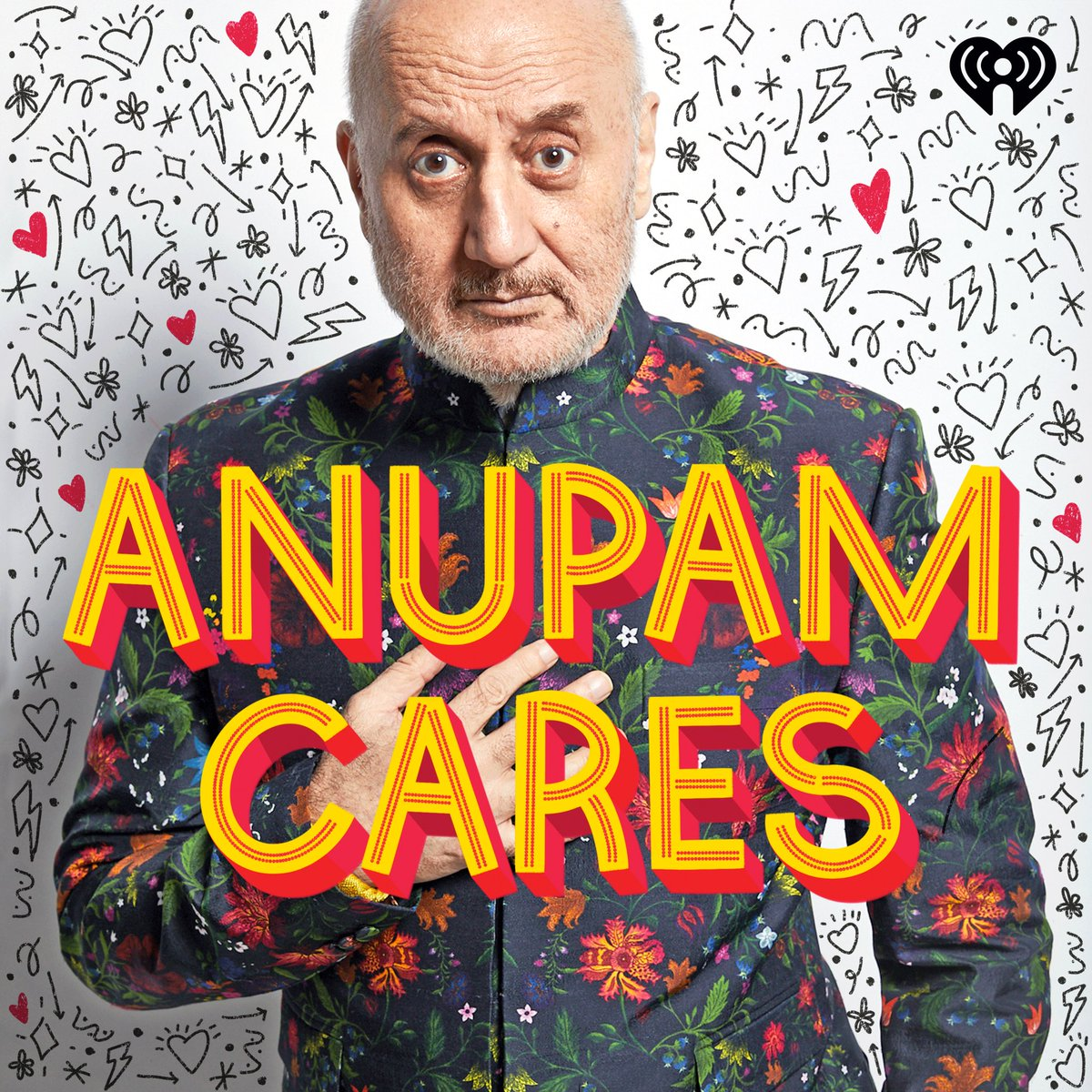 This year has been difficult. So I made a podcast: #AnupamCares. It's stories of humor, hope & love. Because I needed a reminder that we still live in a beautiful world. And I wanted to remind you too. Come listen Dec 7th onwards on @iHeartPodcasts @Apple @Spotify !! Jai Ho! 🙏😍