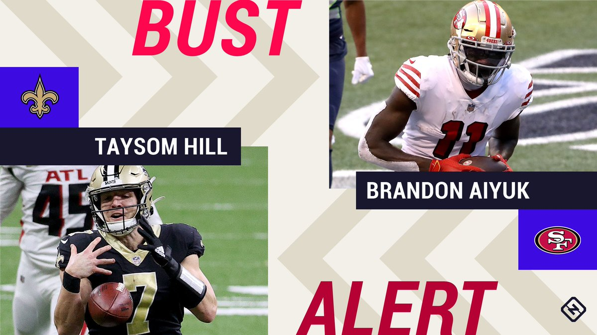 Week 12 Fantasy Busts: Taysom Hill, Brandon Aiyuk among risky 'starts' in difficult matchups Read Here : https://t.co/rrlnm1cIiW  #follow us to stay updated #the_hilight #latestnews #news #globalnews #breakingnews #indialatestnews #currentaffairs #india #global https://t.co/cEvdJZYROb