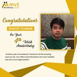 Image for the Tweet beginning: Congratulations, Shavet Kumar! On your