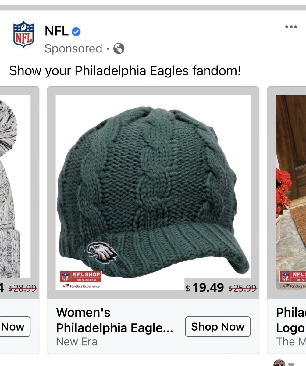 Let's talk gift-giving/holiday shopping!  What's the one gift friends can give you that will ALWAYS be a hit?!  Me? Anything Eagles! #FlyEaglesFly