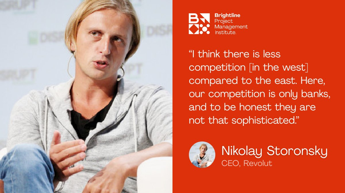 """""""A lot of them are over a hundred years old and they simply don't have enough tech talent."""" Revolut founder and CEO Nikolay Storonsky spoke about regulation and competition from the east, and from western banks.  @WebSummit #websummit2020"""