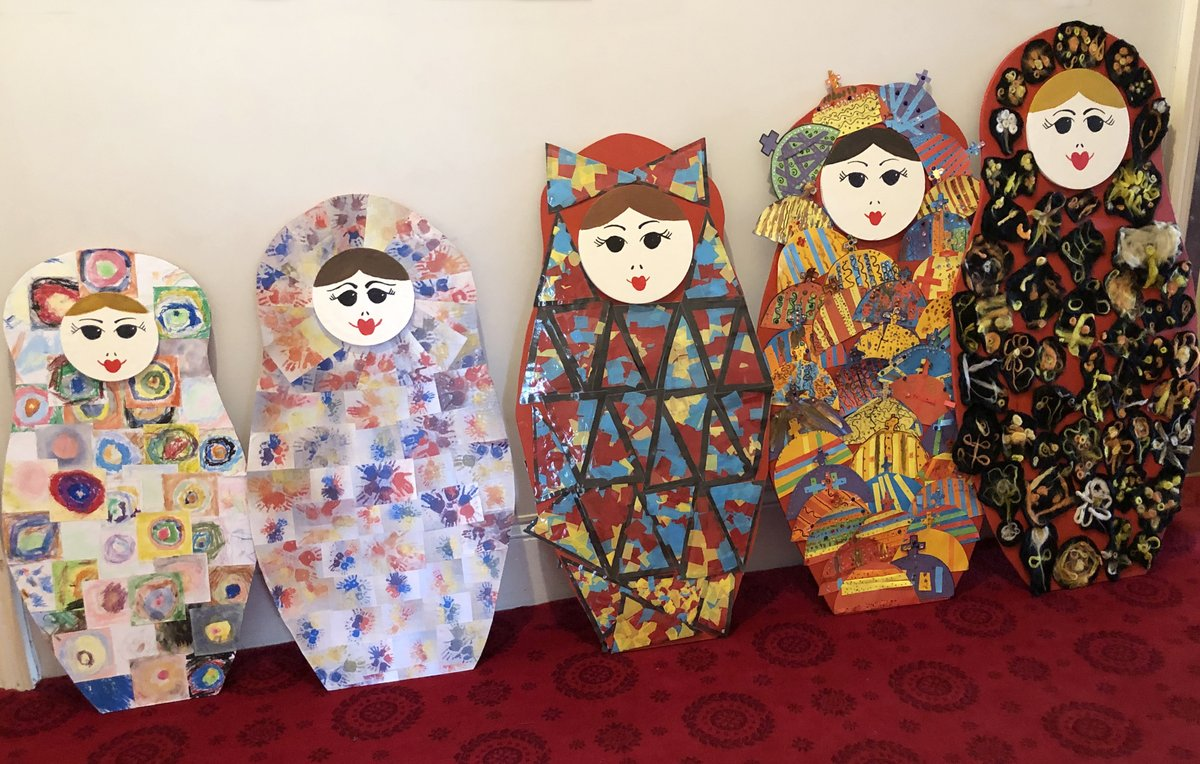 We absolutely love these gorgeous Russian dolls currently on display at Osborne. Thank you very much to the children at Nine Acres Primary School, Isle of Wight for making them!  @NineAcresPri @EHOsborneHouse https://t.co/yTH5U71DCG