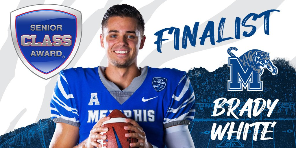 Congrats to @BradyWhite223 for being named a @SnrCLASSAward Finalist! 📰 ow.ly/Czxx50CJ6Cs ⬇️ Vote Now ⬇️ ow.ly/6lb850CJ6Cr