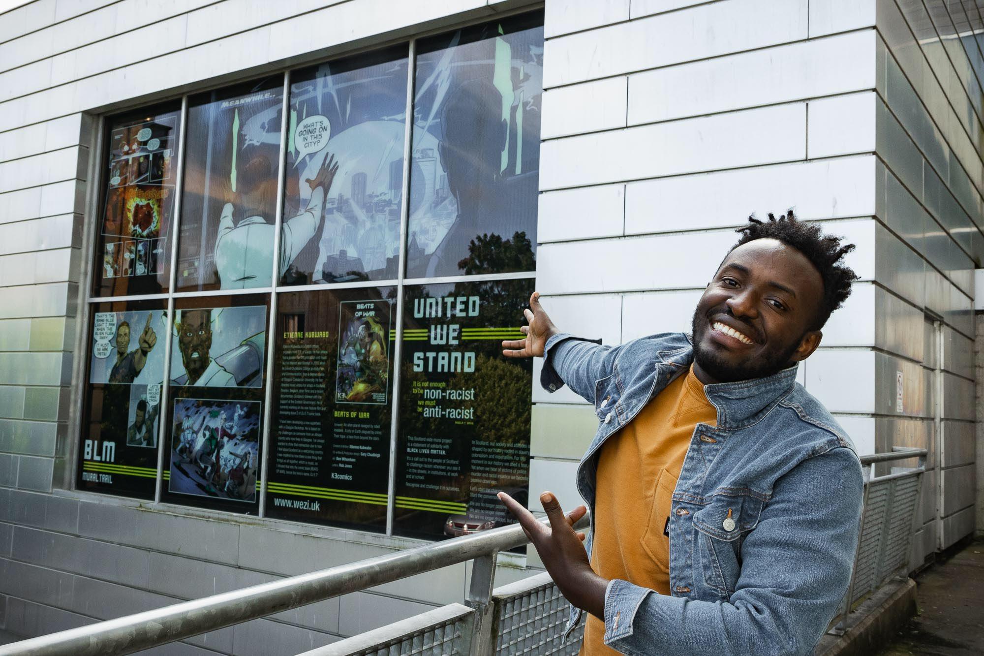 Etienne Kubwabo on his comic Beats of War