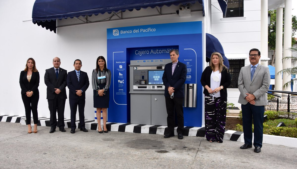 ¡Seguimos innovando para ti!   Conoce el primer #CajeroAutomático en Autobanco de la Agencia Urdesa; realiza consultas, retiros, pagos de servicios, pagos de tarjeta PacifiCard, depósito en efectivo, cheque y otras transacciones financieras con más facilidad y comodidad. https://t.co/0N16bOuucN