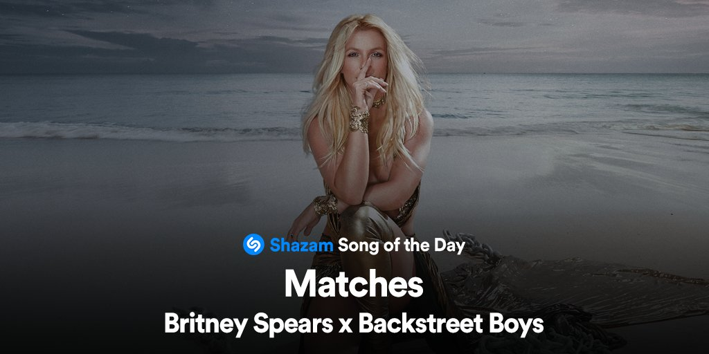 #Matches by @britneyspears & @backstreetboys is our Song of the Day!! Stream now on @AppleMusic:  💙