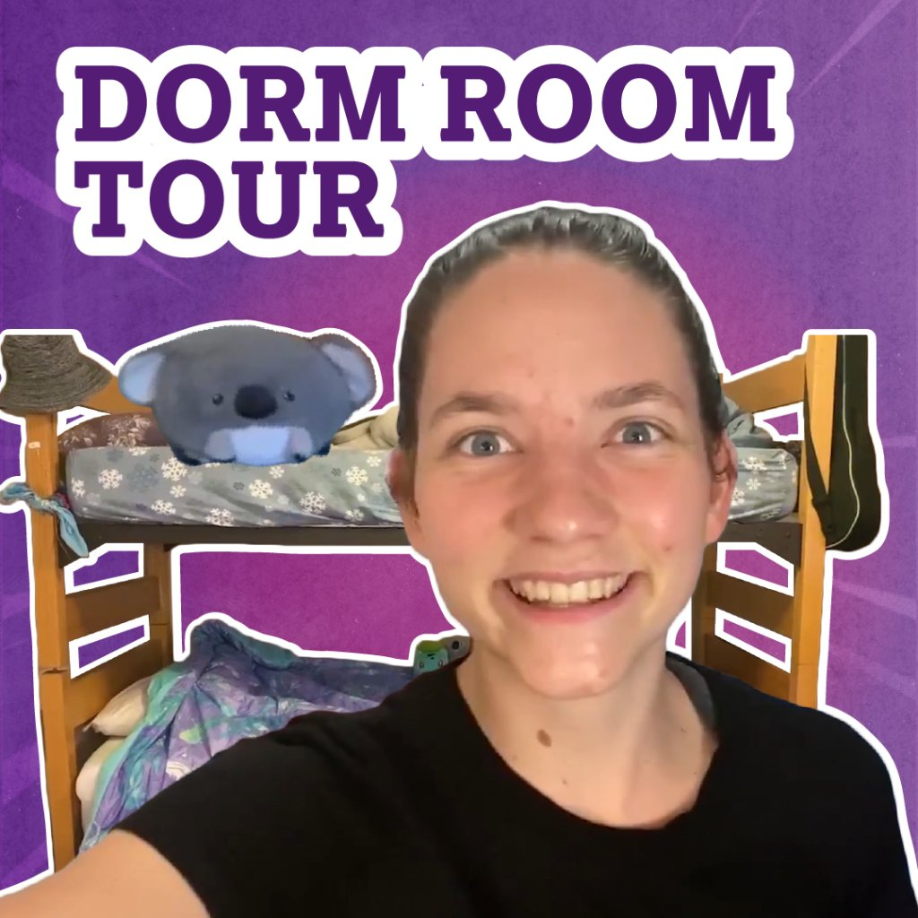 Get a feel for dorm living with Bekah from @HoughtonCollege. 👉 spr.ly/6018HOlWj