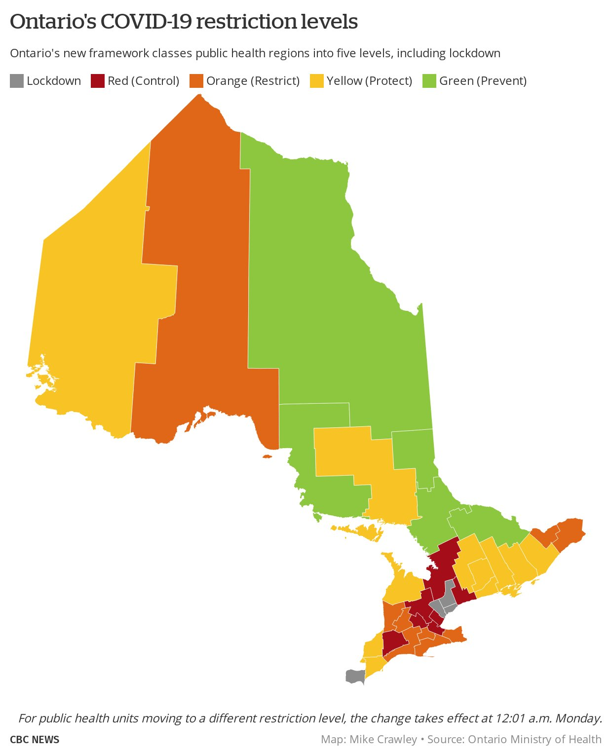 Mike Crawley On Twitter Breaking Ontario Expands Lockdown Level Of Restrictions To York Region And Windsor Essex New Red Zones Middlesex London Simcoe Muskoka Wellington Dufferin Guelph All Changes To Take Effect 12 01am Monday Https T Co