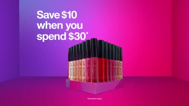 Through Saturday, save $10 when you spend $30 on Beauty items with Target Circle. Exclusions apply.