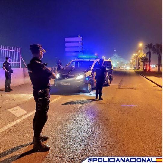 Foto cedida por Policía Nacional