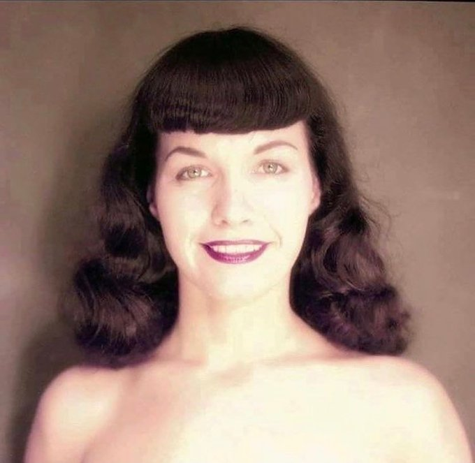 Pinup angel 💄😇❤️ Bettie left us 12 years ago today but lives on thru her countless fans ✨💕 She endured