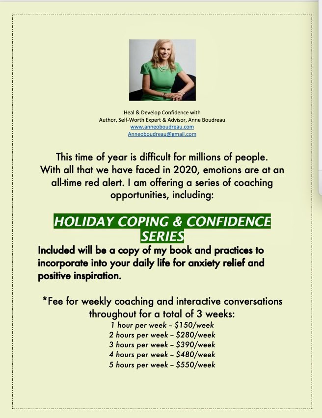 READY TO TACKLE THE HOLIDAYS WITH CONFIDENCE, message me for help coping with holiday strain. #holiday2020 #holidayblues #winter #depression #anxiety #angst #sadness #loneliness #frustration #negativity #mentalhealth #holistichealth #wellbeing #mental #mindset #coaching #selfcare