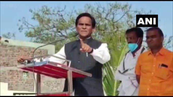 किसानों के विरोध-प्रदर्शन के पीछे चीन और पाकिस्तान : केंद्रीय मंत्री दानवे