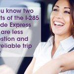 Image for the Tweet beginning: #DYK that the #285Westside Express