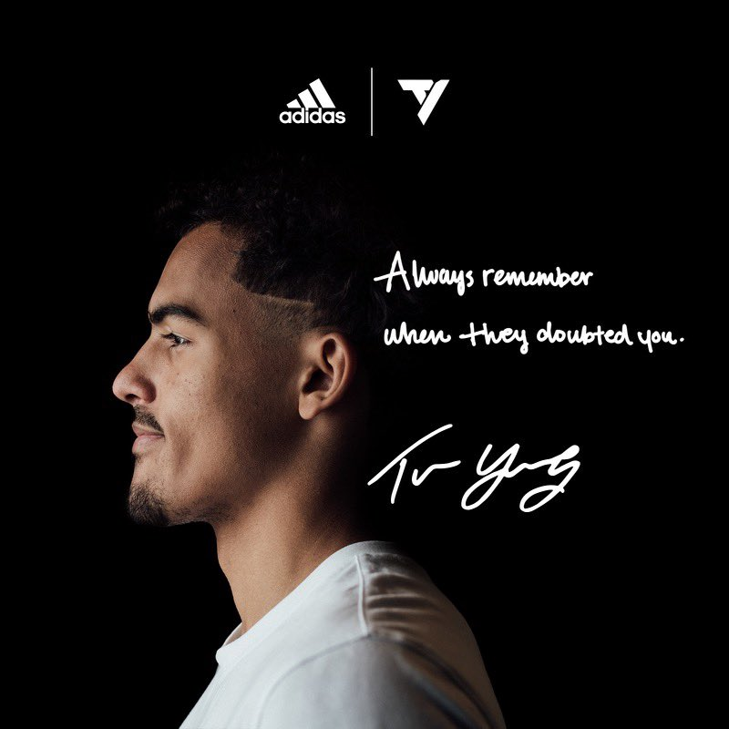 Trae Young 1. Coming in 2021. 🙏🏽👟💯
