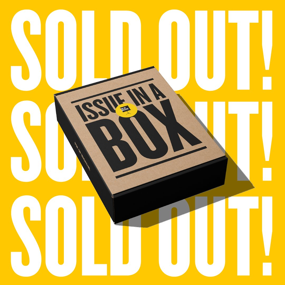 Our first Issue in a Box is now sold out — thanks for your support! Boxes are currently being packed with 💛 by the Pop-Up Mag team and are expected to ship by 12/15.  Missed out? Become a member for the inside scoop on what's ahead for 2021.