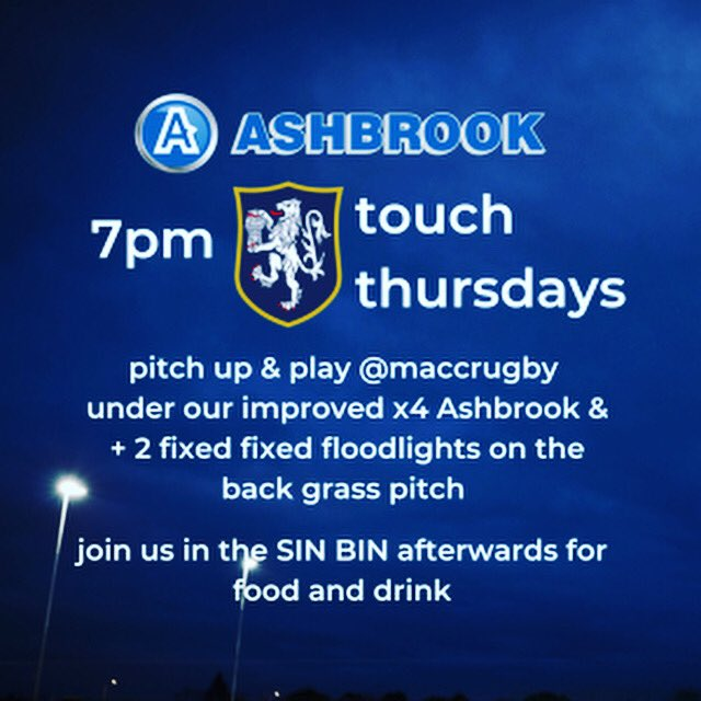 test Twitter Media - Fancy a bit of touch rugby tomorrow? 7pm on the back pitch under the new lights @ MRUFC SK104AE https://t.co/ueti85oLjz