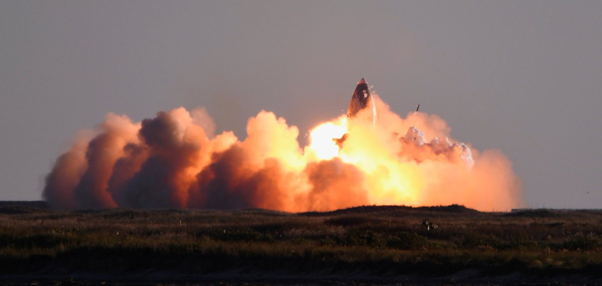 SpaceX's Starship Prototype Explodes While Attempting to Land After Test Launch