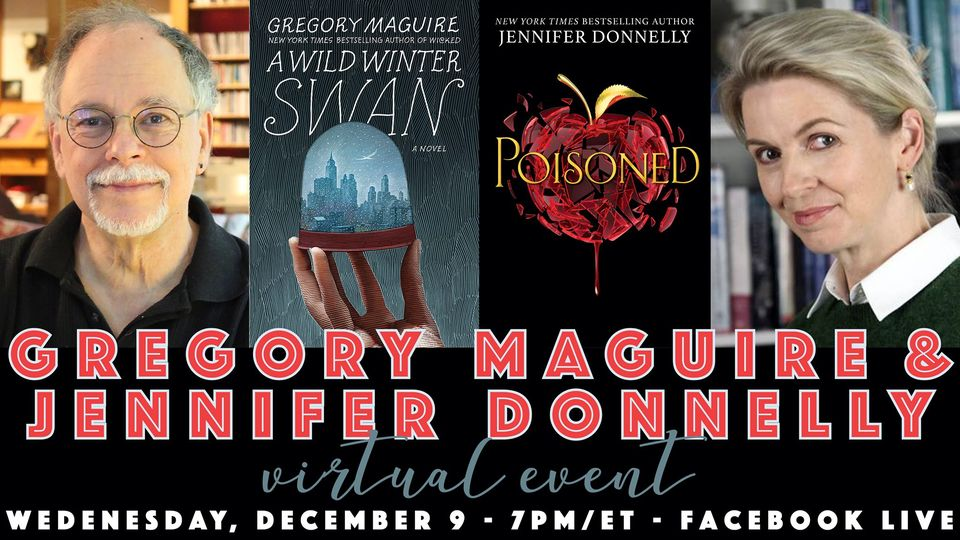 TONIGHT! Join me and WICKED author Gregory Maguire at 7pm on Facebook Live! @ireadya facebook.com/events/2769926…