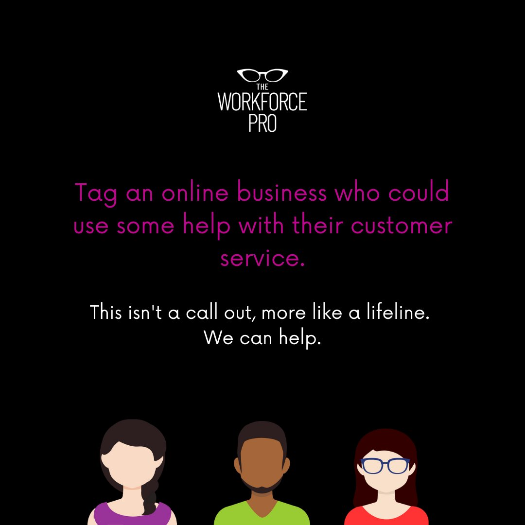 We've all had that experience where we've waited too long to get help or got no help at all. Tag a business that could use some help with their customer experience. That's what we do. Plus, it's free #voc for the company.   #negativetopositive #theworkforcepro #customerexperience